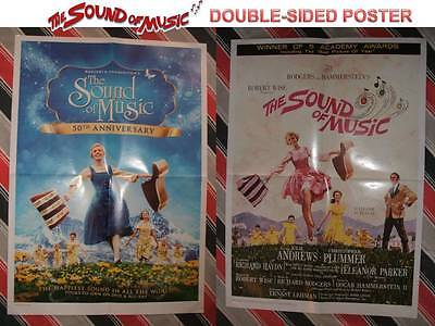 THE SOUND OF MUSIC POSTER *2-Sided* A2 Movie Cinema Film NEW Warner Disney Oscar