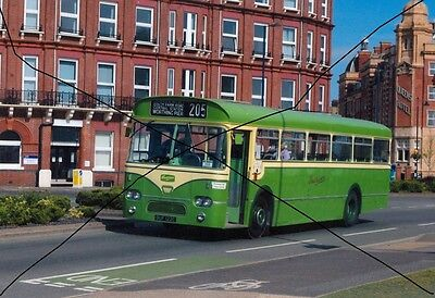 Bus Photo,southdown Photograph Picture Leyland Leopard At Southsea.