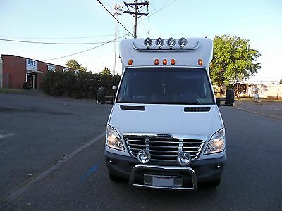 2010 Mercedes-Benz Sprinter  2010 Mercedes-Benz Sprinter 3500 with Sleeper & with 2014 Enclosed 2 Car Trailer