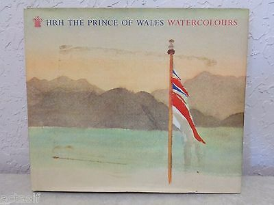 Charles HRH The Prince of Wales Watercolours Hardcover Color with Dustcover book