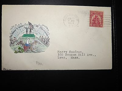 First Day FDC 1929 2c Sullivan Stamp & Canajoharie Cancel & Handpainted Sc# 657