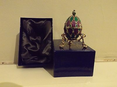 Atlas Editions Faberge Egg - Night Flower . Ideal Christmas Present