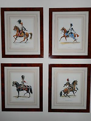 Charles Griffin Prints - 19th Century British Cavalry Officers