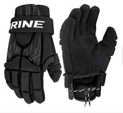 "NIB Brine Uprising II 13"" Black Lacrosse Gloves"