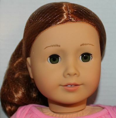 """American Girl Doll New  #61 Green eyes , red hair Beautiful 18"""" just like you"""