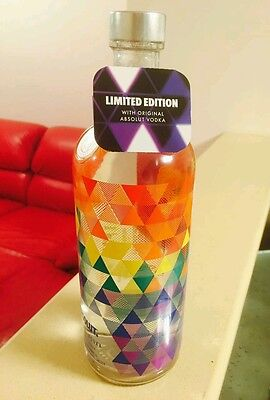 ABSOLUT Vodka MIX 1L Limited Edition Full sealed & closed + Special TAG for 1L