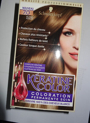 coloration permanente blond foncé