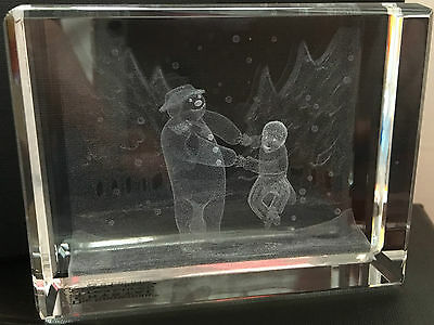 Country Artists Crystal Treasures The Snowman Dancing In The Snow Boxed
