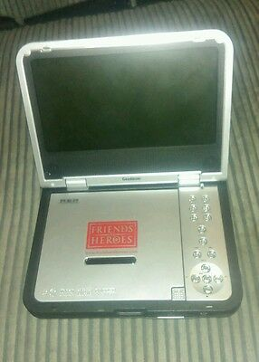 goodmans portable dvd player working gdvd80w8 friends and heroes