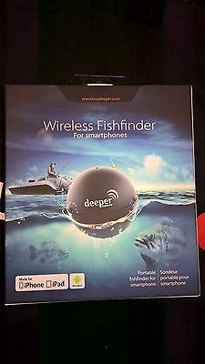 deeper Wireless Fishfinder for Smartphones iPhone iPad Android DP0H10S10
