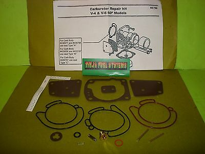 Carburetor Rebuild Kit Johnson Evinrude Omc 90 100 105 115 125 150 175 Hp Many