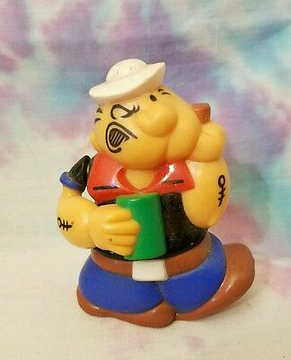 1983 Popeye Plastic Candy Gumball Dispenser Superior Toys King Features