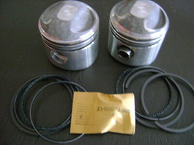 HARLEY USA USA MADE FORGED PISTON SET +.040 COMPETITION 74 1200cc 1941- 1978