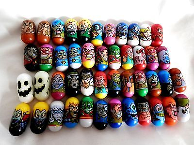 Bundle of 46 Assorted Ja-Ru Mighty Beanz:2004:Some Multiples:Very Good Condition