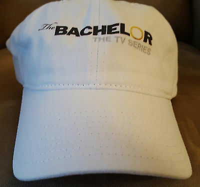 The Bachelor TV Series White Hat-RARE 100% Cotton-Brand New