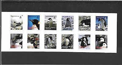 Br.ANT. TERRITORY. 2006  BOOKLET  PENGUINS of the ANTARTIC  SG,SB1  U/M.MINT
