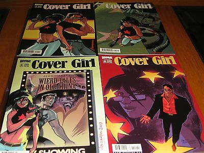 All 5 issues of the 2007 Cover Girl comic book series