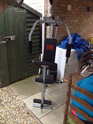 PRO POWER MULTI GYM  40 KILO SLIDING WEIGHT. COLLECTION LINCOLNSHIREt