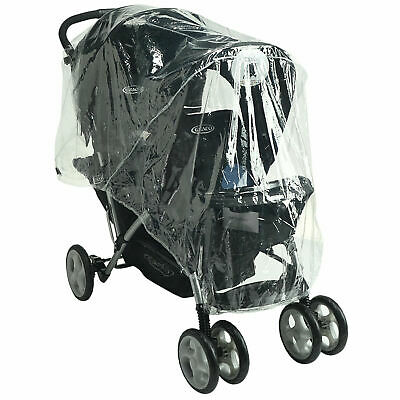 Raincover Compatible with Graco Tour Duo Tandem Twin