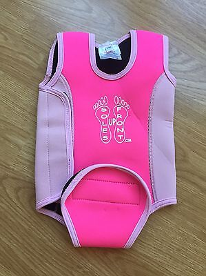 Soles Up Front Cornwall 0-6mths neoprene Baby Wetsuit