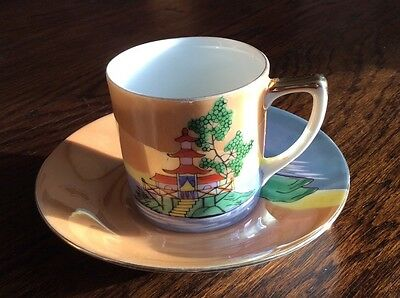 Noritake Cup and Saucer from 1930s