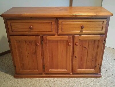 Solid timber buffet