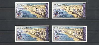 (934684) ATM, Small lot, Frama, Machine Labels, Miscellaneous, Israel
