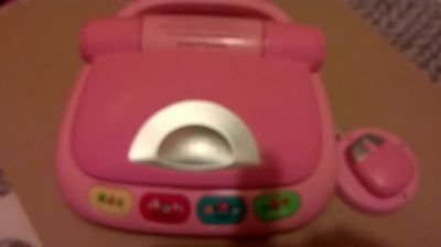VTECH MY LAPTOP PINK EDUCATIONAL LEARNING TOY Letters, Games & Music, Numbers