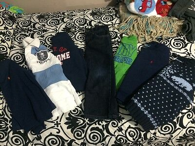 Toddler Boys 7pc Set Size 4-4t GUC Varies Brands