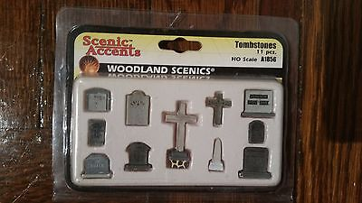 Woodland Scenics Tombstones N Scale A2164 model train accessories