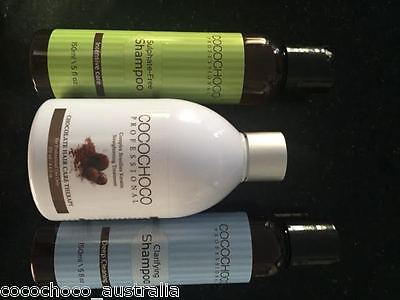 Brazilian Cocochoco KERATIN Treatment with Pre & After Shampoos,Free Shipping