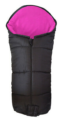 Deluxe Footmuff / Cosy Toes Compatible with Be Cool By Jane Pushchair Pink