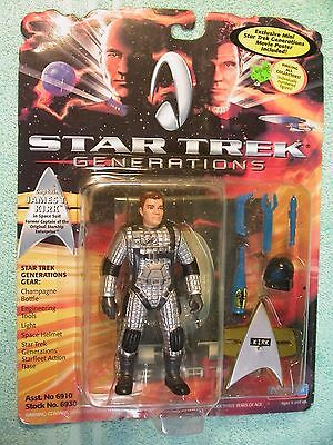 Star Trek James Kirk Playmates 6811 Space Suit with acc