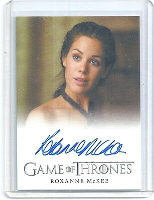 Game of Thrones Roxanne McKee As Doreah Autograph