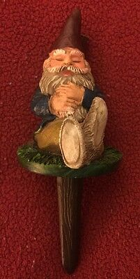 Christmas Sleeping Gnome Tree Topper/garden Vg Hand Painted