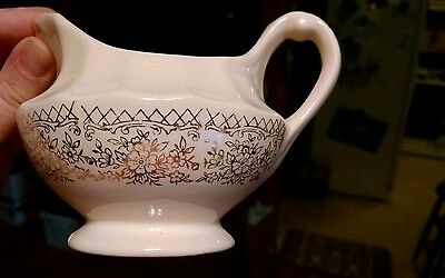 Nice American Limoges cream pitcher 1 K-S 518 22 k gold 4 Chateau-France