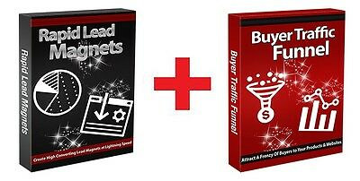 Rapid Lead Magnets + Buyer Traffic Funnel- 2-for-1 COMBO PACK Videos on 1 CD