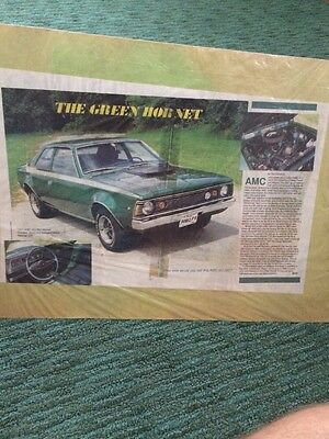 The Green Hornet Amc 1971 Ad