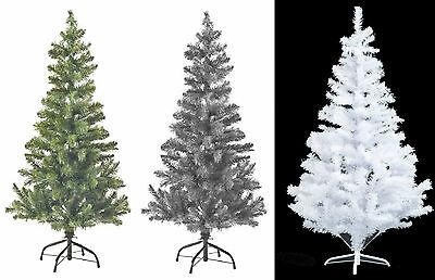 Kingfisher  Christmas Tree Green,White & Black 2,3,4,5& 6FT Xmas Decorations