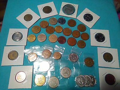Lot of mixed Tokens T1