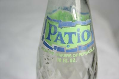 Vintage Collectors 1970 Patio by Pepsi Cola  ACL 10 oz Soda Pop Bottle