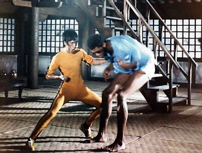 Game  Of  Death  -  Bruce  Lee  -  8 1/2  X  11  Glossy  Photo  Reprint
