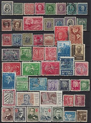 Nice lot of early/vintage stamps - mixed conditions - 50+
