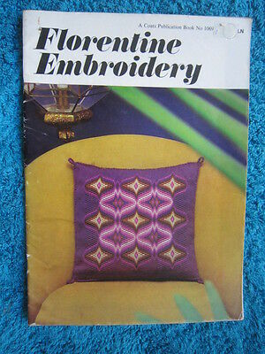 Vintage Florentine Embroidery Coats Book No. 1069. 12 Stunning Items To Stitch.