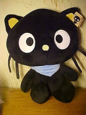 Sanrio Chococat, Large Plush Toy With Blue Scarf, Tag