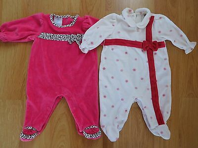 Baby girl Christmas One Piece outfit size 0-3 months