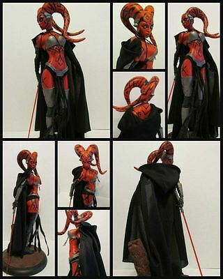 Star Wars Custom Cloak Only for Darth Talon Sideshow Premium Format Statue