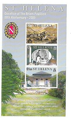 St Helena stamps sheet Briars pavilion 2008 MNH unmounted mint