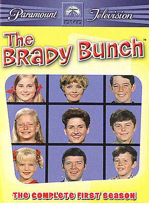 The Brady Bunch - The Complete First Season 1 One (DVD, 2005, 4-Disc Set) - NEW!