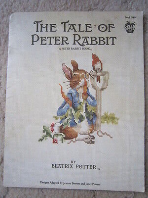 The Tale Of Peter Rabbit By Beatrix Potter. 12 Cross Stitch Pattern To Delight.